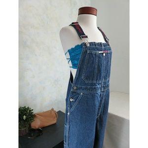 Tommy Hilfiger Rare Vintage Overalls Festival Jean
